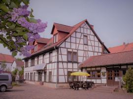 Pension Ujut, Bad Langensalza (Ballstädt yakınında)