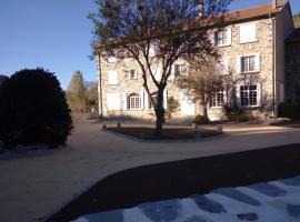 Hotel De La Loire, Goudet (рядом с городом Alleyrac)