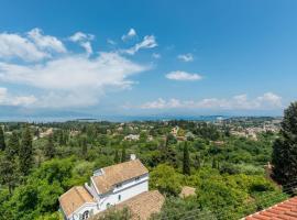 Panoramic View Of Corfu Island