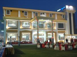 Hotel Red Sapphire, Harthala (рядом с городом Amroha)