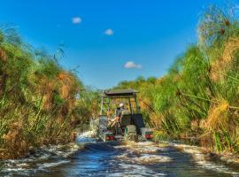 Thamalakane River Lodge, Maun (Near Moremi Game Reserve)