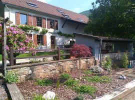 Ferme Terre des Plantes Bed & Breakfast, Grosmagny (рядом с городом Lachapelle-sous-Chaux)