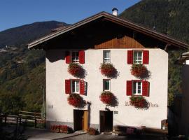 Pensione Maria Turismo Rurale, Piscine di Sover (Grumes yakınında)