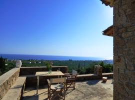 Aloni Stone house, amazing seaview, Near the beach, Riglia (рядом с городом Айос-Николаос)