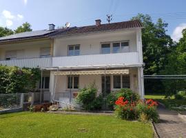 """Zum Waldblick"", Leipheim (Echlishausen yakınında)"