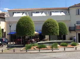 Studio Indépendant dans la Villa S, La Réole (рядом с городом Saint-Sève)