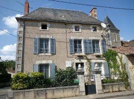 Le Petit Cochon chambre d` hotes, Haims (рядом с городом Saint-Savin)