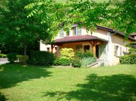 Gites le Paradis *** 319100 - Superbe vue sur le Vercors. Dominant le village., Pont-en-Royans (рядом с городом Sainte-Eulalie)