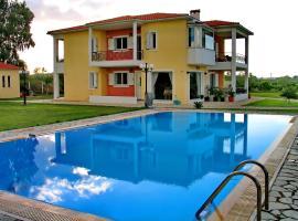 Villa Giannopoulos, Áyios Ioánnis (À proximité de: Pýrgos)