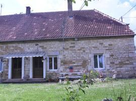 le gîte de Marinette, Villers-Robert (рядом с городом Chaussin)