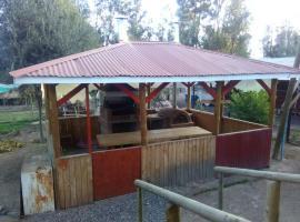 Casa Cabaña Lago Rapel, Lago Rapel (El Durazno yakınında)