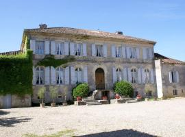 Chambres d'Hôtes Chateau de Cavagnac, Layrac (рядом с городом Lafox)