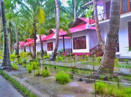 Crossbill Resort, Остров Хейвлок (рядом с городом Baratang Island)