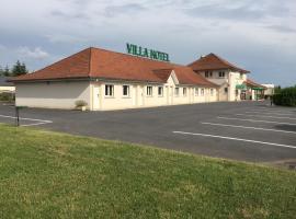 Villa Motel, Stenay (рядом с городом Quincy-Landzécourt)