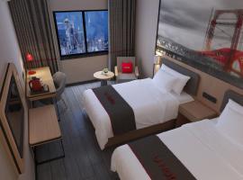 Thank Inn Chain Hotel Jiangsu Xuzhou Pizhou People Square, Pizhou (Houbaoche yakınında)