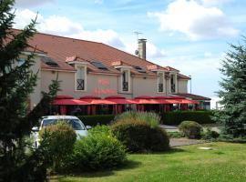 Logis Argonne Hôtel, Vouziers (рядом с городом Brécy-Brières)
