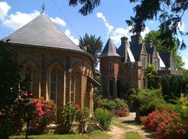 maison rouge, Saint-Crespin (рядом с городом Omonville)