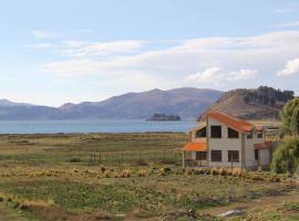 Lago Sagrado, Santiago de Ojje (Huatajata yakınında)