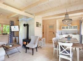 SeaUSasino - Dom Ocean - Luksusowe Drewniane Domy z Kominkami