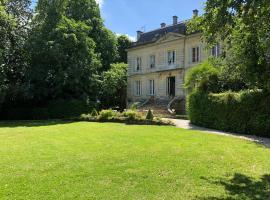 Les chambres d'Hotes du Domaine du Pacha, Beautiran (рядом с городом Saint-Selve)