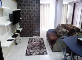 Cozy 2BR The Aspen Residence Apartment By Travelio, Джакарта (рядом с городом Kalijati)
