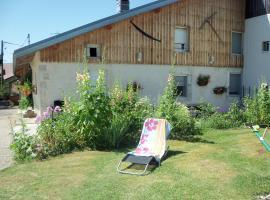 Gîte de la sauge, Mignovillard (рядом с городом Longcochon)