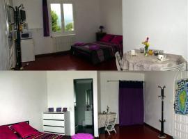 Chambre INDEPENDANTE et aménagée 25 kms Ajaccio, Ucciani (рядом с городом Bastelica)