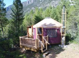 Radius Retreat, Radium Hot Springs (Spillimacheen yakınında)
