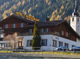 Hotel Seeblick, Sufers (Innerferrera yakınında)