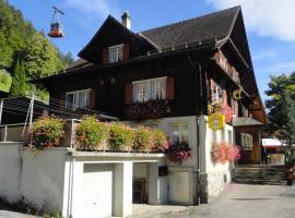 Gästehaus Schäfli, Intschi (Amsteg yakınında)