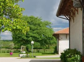 Gîte des Combles, Saint-André-sur-Vieux-Jonc (рядом с городом Chanoz-Châtenay)