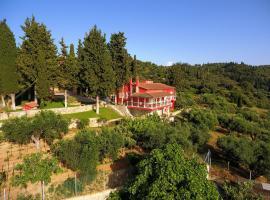 Villa Grecorama, Monodhéndrion