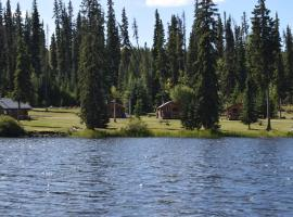 Finger Lake Wilderness Resort, Vanderhoof (Fraser Lake yakınında)