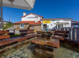 Albergue Milpés, Ribadiso (A Portela yakınında)