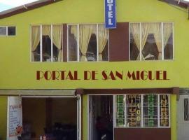 Portal de San Miguel, Chachagüí