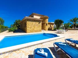 Villa El Castellet, Benissa (Pedramala yakınında)