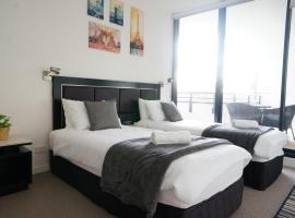 Morden Sleek Apartment in Heart of Macquarie Park, Sidney (North Ryde yakınında)
