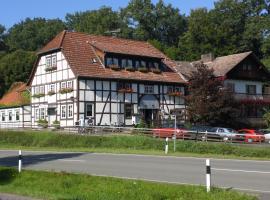 Hotel-Restaurant Fischanger, Schieder-Schwalenberg (Eschenbruch yakınında)