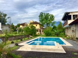 Jardin Casa la Historia - Entre Volcanes, Антигуа-Гуатемала (рядом с городом Сьюдад-Вьеха)