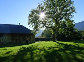 Le pré aux clercs, Trévignin (рядом с городом Pugny-Chatenod)