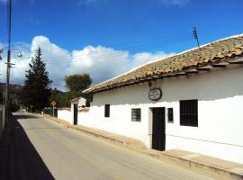 Hotel Hacienda El Aserrio, Iza (Pesca yakınında)
