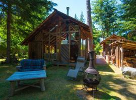 Sunny Savary Island Forest Studio, Savary Island (Cortes Bay yakınında)
