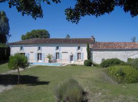 Les Gîtes de Charloteau, Corme-Écluse (рядом с городом Grézac)