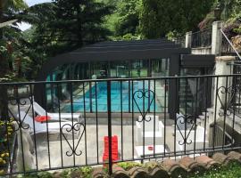 Mon Amour appartamento in villa vista lago a Lugano-Melide, Melide