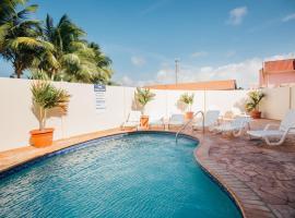Aquazul Aruba Apartments, Palm-Eagle Beach (Sint Anna yakınında)