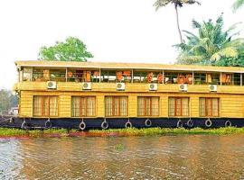 6 BHK Houseboat in kattakayam, Kottayam(B544), by GuestHouser, Alleppey