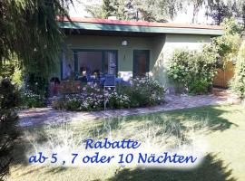 Ferienbungalow Haus Rolf _ Objekt, Papendorf (Wahrstorf yakınında)