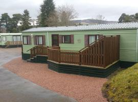 The Arran Caravan Holiday Home, Bridge of Tilt (рядом с городом Blair Atholl)