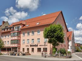 Hotel Restaurant Lindenhof, Bräunlingen (Hüfingen yakınında)