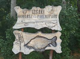 Izsáki Horgász- és Pihenőpark, Izsák (рядом с городом Fülöpszállás)